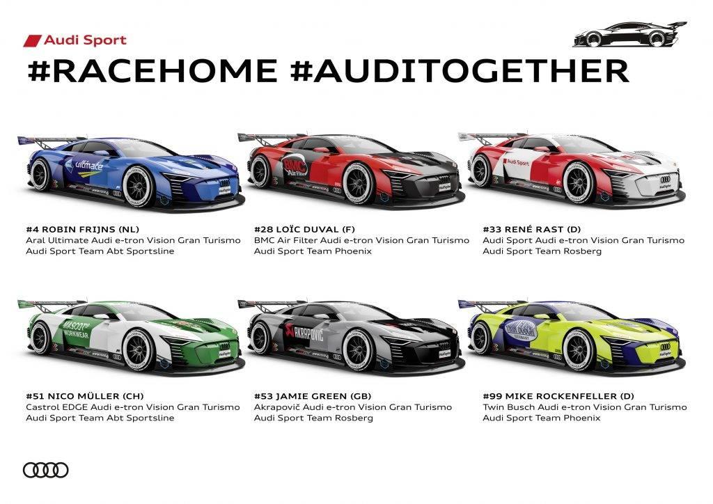 Audi DTM #racehome