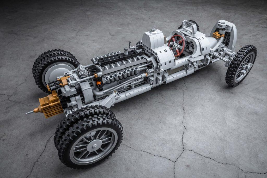 auto union type c lego bez nadwozia