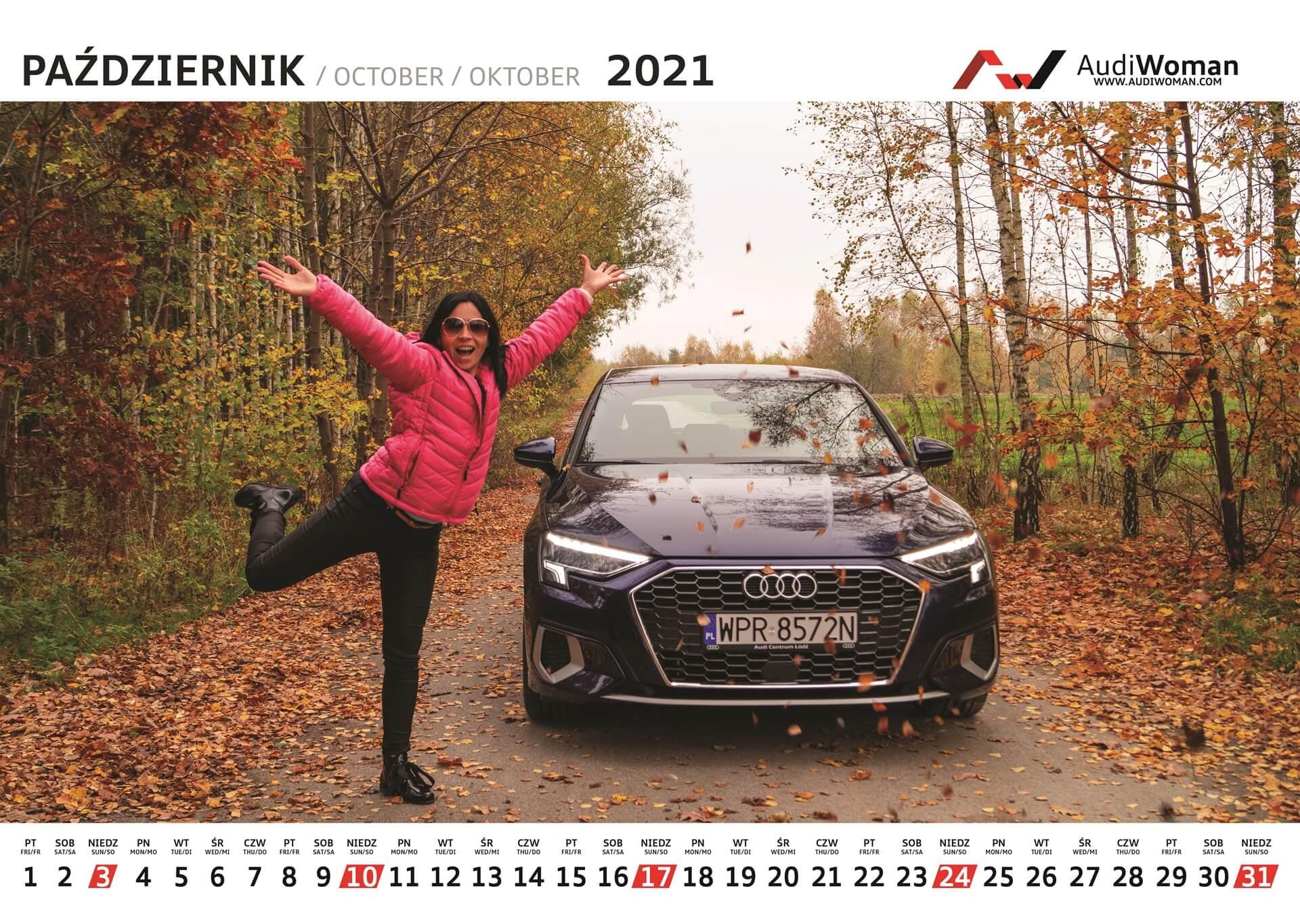 Kalendarz Audi Woman 2021r