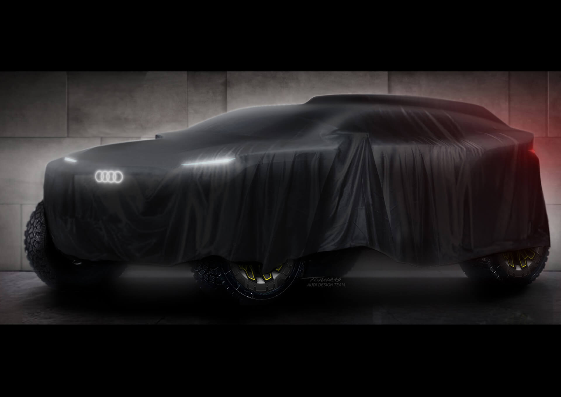 Audi - Teaser Dakar 2022